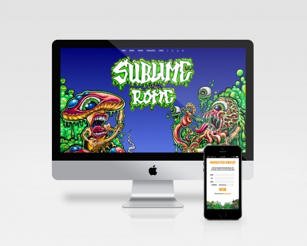 Sublime w/ Rome Website