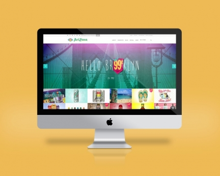 Arizona Beverages Global Website