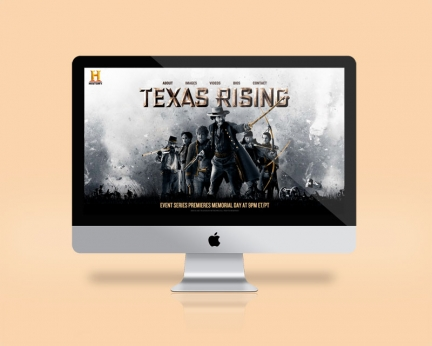 Texas Rising Micro Site for History Channel