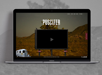 Puscifer Website